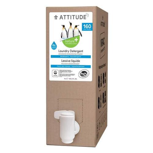 Attitude Eco Refill Wildflower Laundry Detergent Hypoallergenic 4 litres