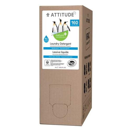 Attitude Eco Refill Wildflower Laundry Detergent Hypoallergenic 4 litres box image