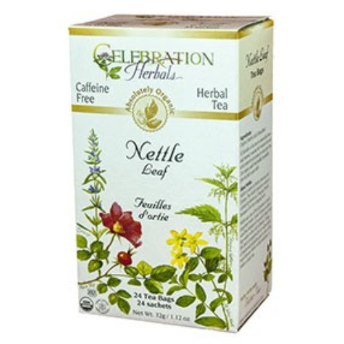 Celebration Herbals Nettle Leaf organic herbal tea.
