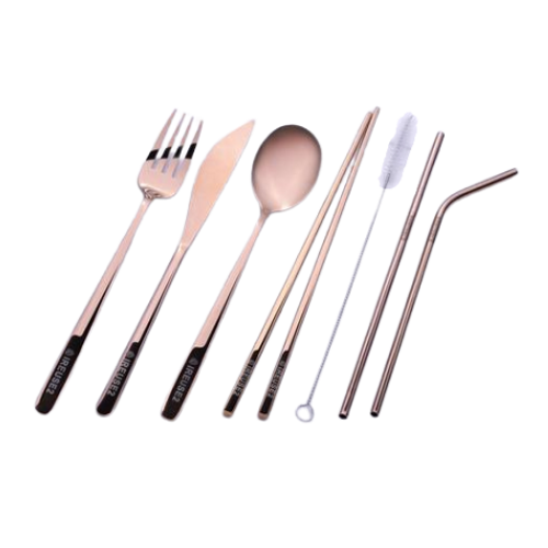 IREUSE2 Cool Copper Adult Cutlery Set