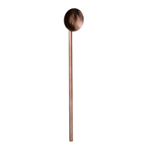 IREUSE2 Cool Copper Spoon Straw