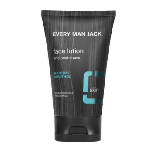 Every Man Jack Natural Menthol Face Lotion 125ml