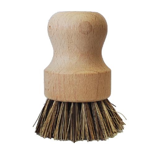 Maison Soleil  Hard Bristle Pot Brush