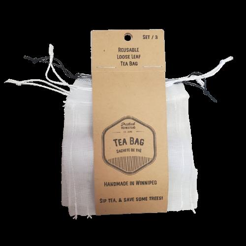 Practical Homestead Reusable Loose Leaf Tea Bags
