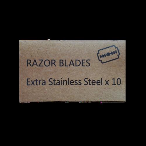 Zero Waste Mvmt - Single Blade Safety Razor Replacement Razor Blades