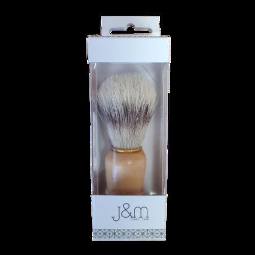 J&M Shaving Brush packaging image