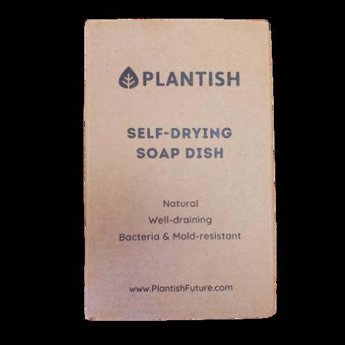 Plantish Self-Drying Soap Dish