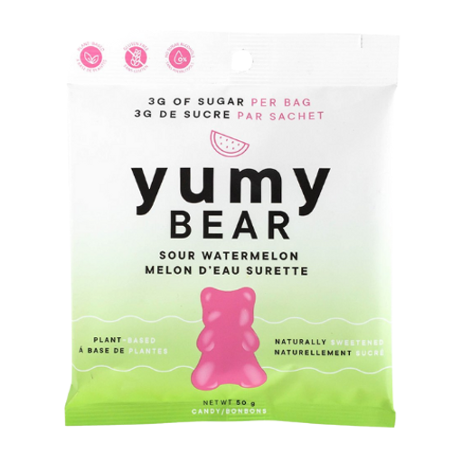 Yumy Bear Sour Watermelon Plant-Based Candy