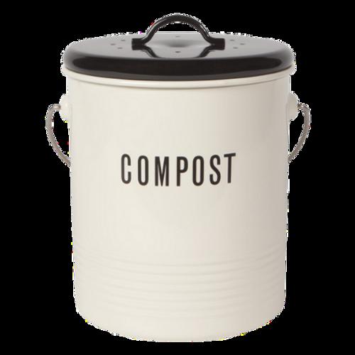 NOW Designs by Danica Vintage Compost Bin