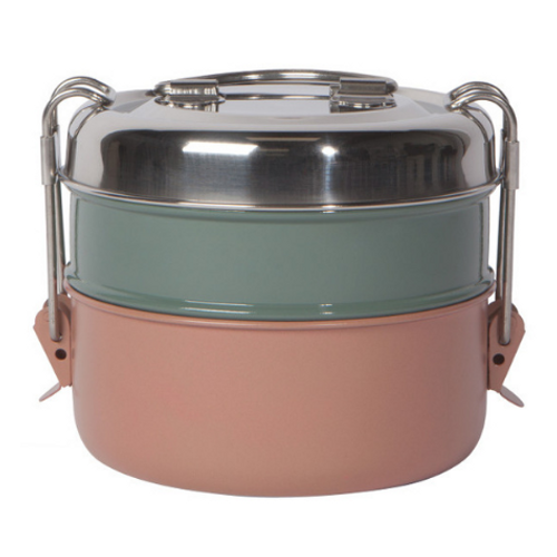 Danica Heirloom - Clay Stainless Steel 2-Tier Tiffin Food Container