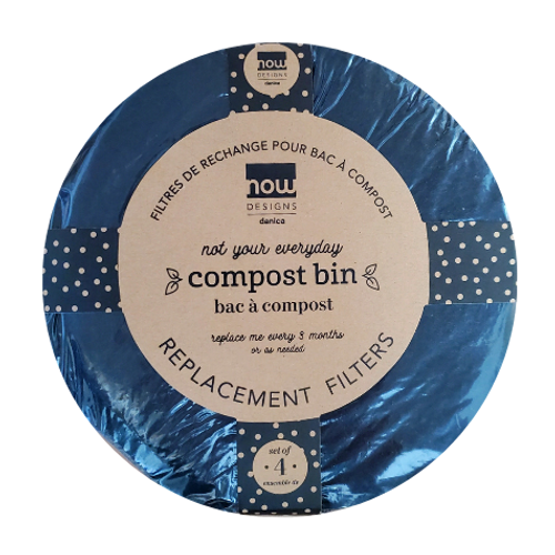 NOW Designs by Danica Compost Bin Replacement Filters