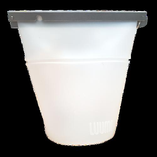 Luumi  Large Clear Unplastic Bowl Bag