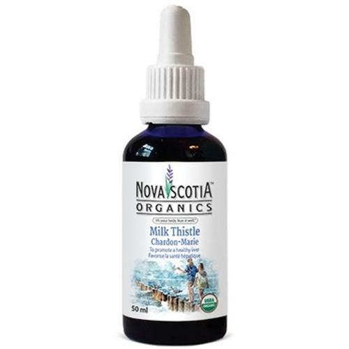 Nova Scotia Organics Milk Thistle healthy liver functions.  50 ml.
