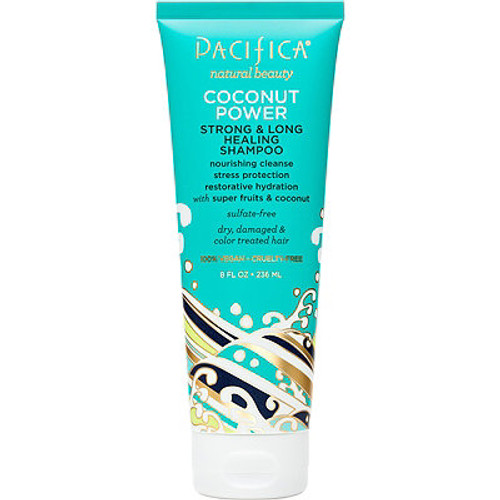 Pacifica natural beauty coconut power healing shampoo.  236ml