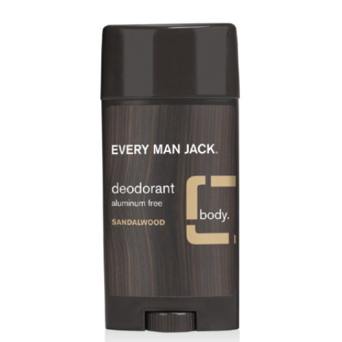 Every Man Jack Sandalwood Deodorant, naturally derived.  88 grams