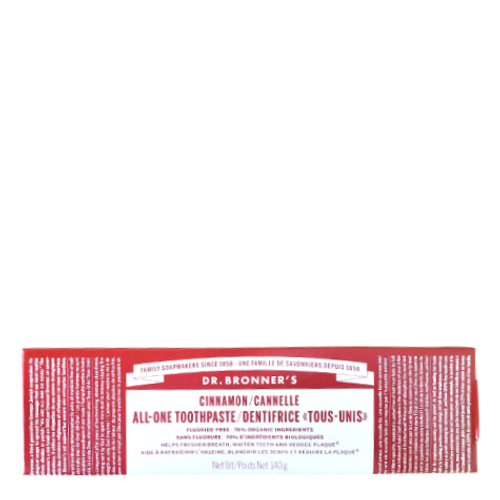 Dr. Bronner's - Cinnamon All-One Toothpaste Box