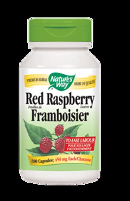 Nature's Way Red Raspberry Leaves Uterine Tonic 100 capsules