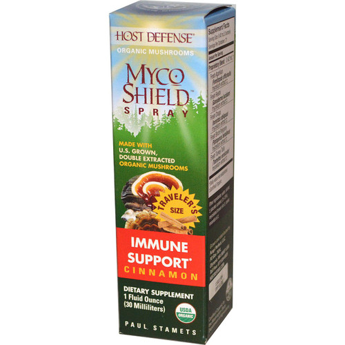 Host Defense Myco Shield Spray Immune Support Cinnamon 30 ml