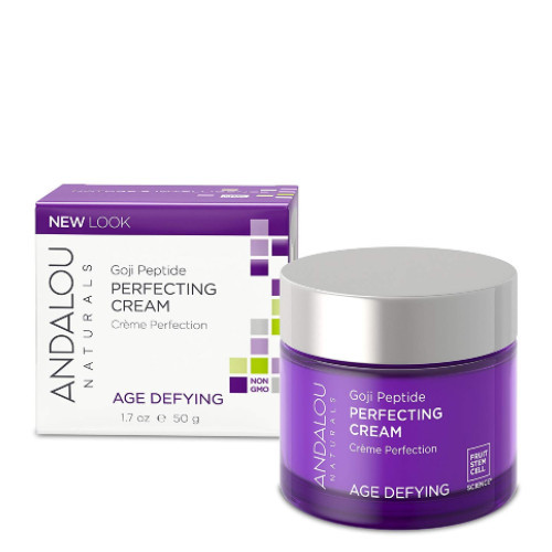 Andalou Naturals Age Defying Super Goji Peptide Perfecting Cream.  50 ml