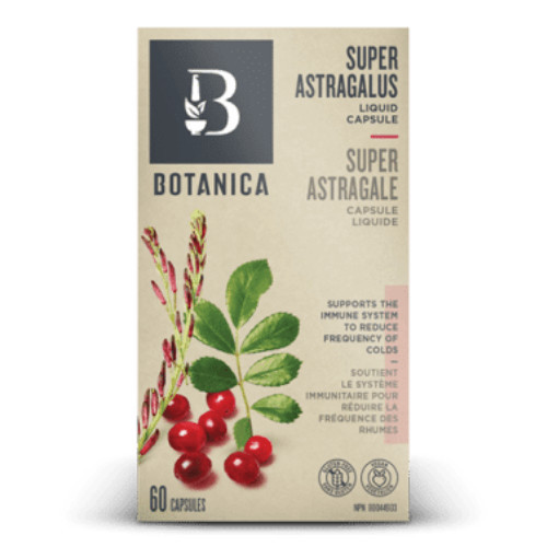 Super Astragalus Liquid Phytocaps for immune system support.  60 caps New Packaging