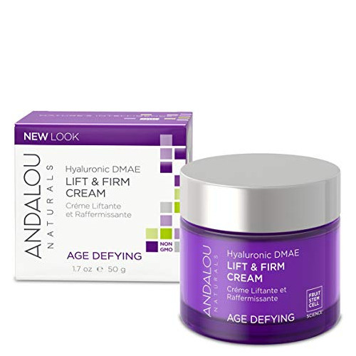 Andalou Naturals Hyaluronic DMAE Lift & Firm Cream, 50 g