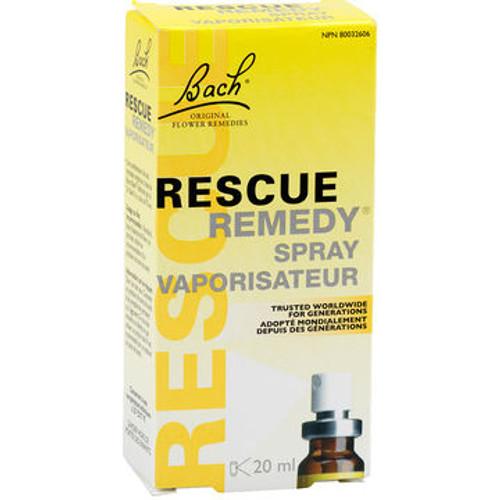 Bach Rescue Remedy Spray, for stress, anxiety, terror  20 ml