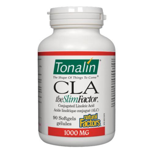 Natural Factors CLA Tonalin reduce body fat.  90 softgels.
