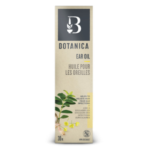 Botanica Ear Oil, for ear infections.  30 ml