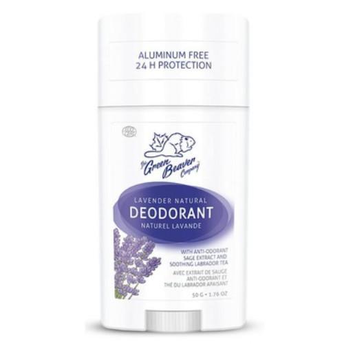 Green Beaver Natural Deodorant Lavender scent, 50 grams