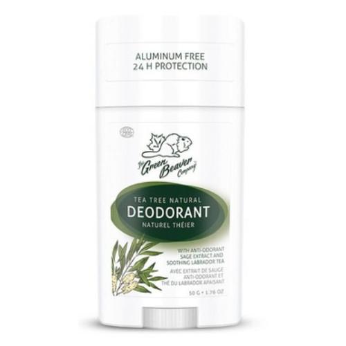 Green Beaver Natural Stick Deodorant Tea Tree, 50 grams