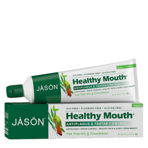 Jason Healthy Mouth Active Defense Tea Tree Oil Cinnamon Toothpaste 119 grams