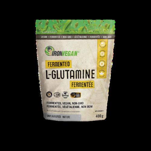 Iron Vegan Fermented L-Glutamine Workout Supplement