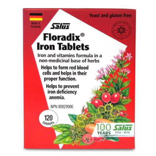 Flora Salus Flordix Iron Tablets