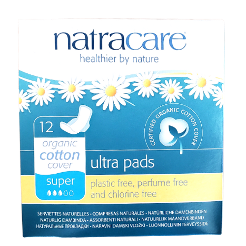 Natracare - Super Absorbent Organic Cotton Cover Ultra Pads