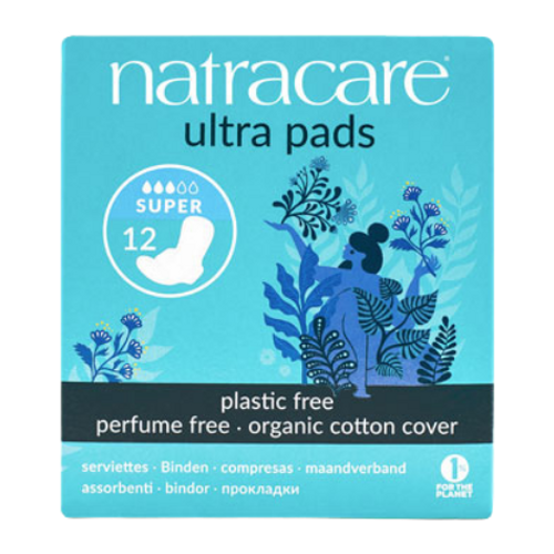 Natracare - Super Absorbent Organic Cotton Cover Ultra Pads New Look