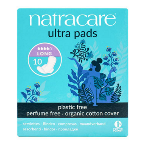 Natracare - Long Organic Cotton Cover Ultra Pads New Look