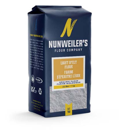 Nunweiler's Organic Light Spelt Flour Canada
