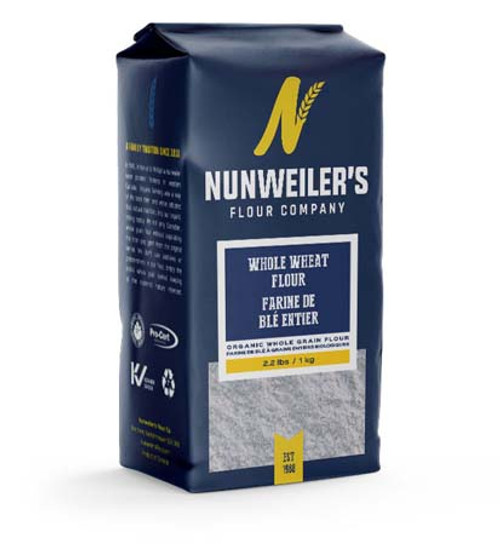 Nunweiler's Flour Company Whole Wheat Flour 1 KG.