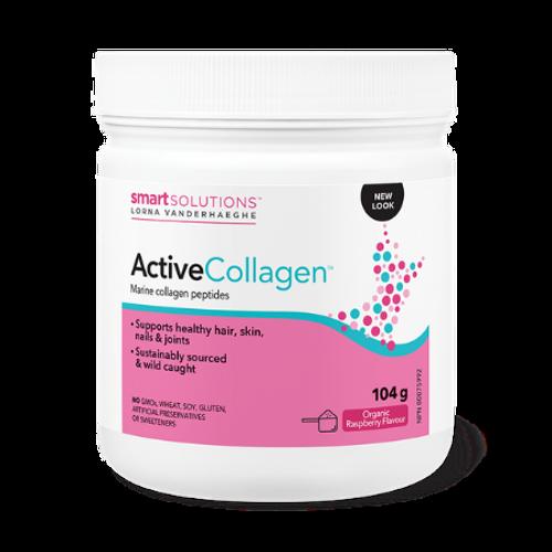 Smart Solutions Lorna Vanderhaeghe Active Collagen Organic Raspberry Flavour 104 grams