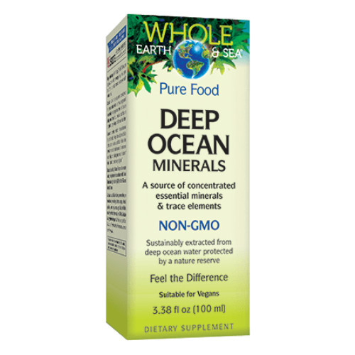 Whole Earth & Sea Deep Ocean Minerals 100 ml