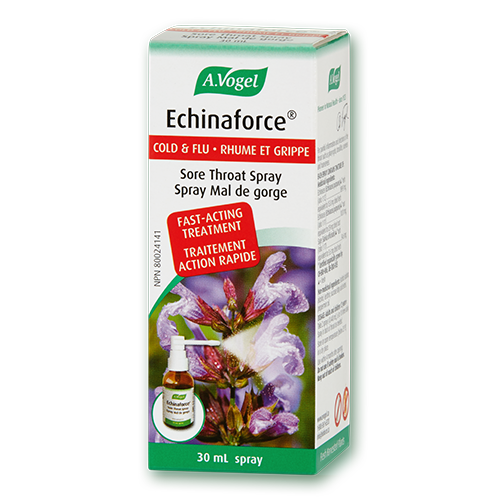 A. Vogel Echinaforce Sore Throat Spray, 30 ml