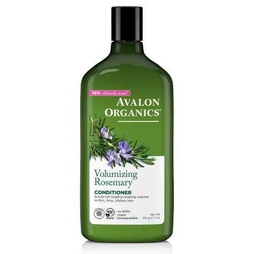Avalon Organics Volumizing Rosemary Conditioner.  Volume for thin, limp, lifeless hair.