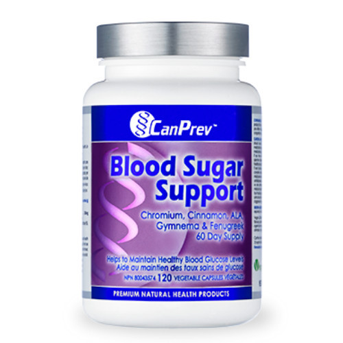 CanPrev Blood Sugar Support , healthy blood glucose level.  120 veg caps