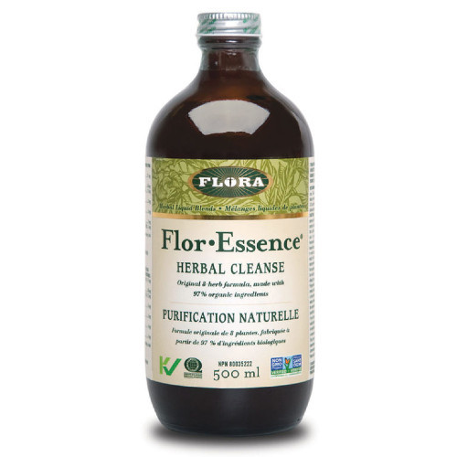 Flora Flor Essence Herbal Cleanse Orginal formula, 500 ml.  detox, digestion.
