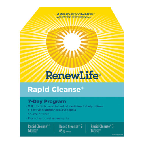 Renew Life Rapid Cleanse 7 Day Program. NEW LOOK