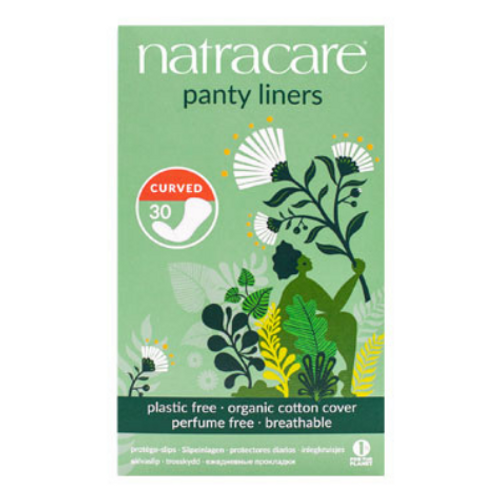 Natracare - Curved Fit Organic Cotton Cover Panty Liners