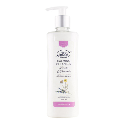 Pure Anada Calming Cleanser Lavender & Chamomile, 240 ml