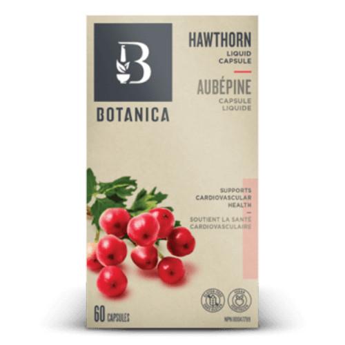 Botanica Hawthorn Liquid Phytocaps heart tonic, 60 caps