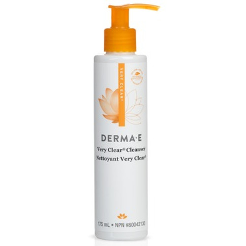 Derma E Very Clear Cleanser Front Picture - well.ca