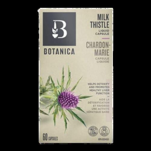 Botanica Milk Thistle Liquid Phytocaps Liver Support 60 caps